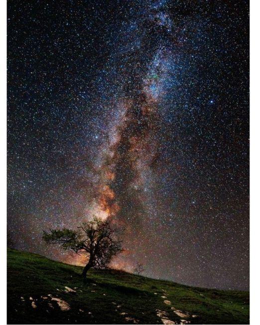 Картина Млечный путь фото